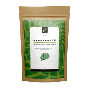 2 kilogram bag of regenerate soil amendment